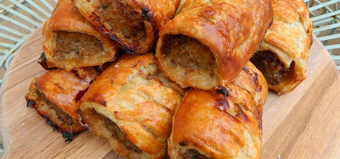 Sausage Rolls South Kiosk Martello Park