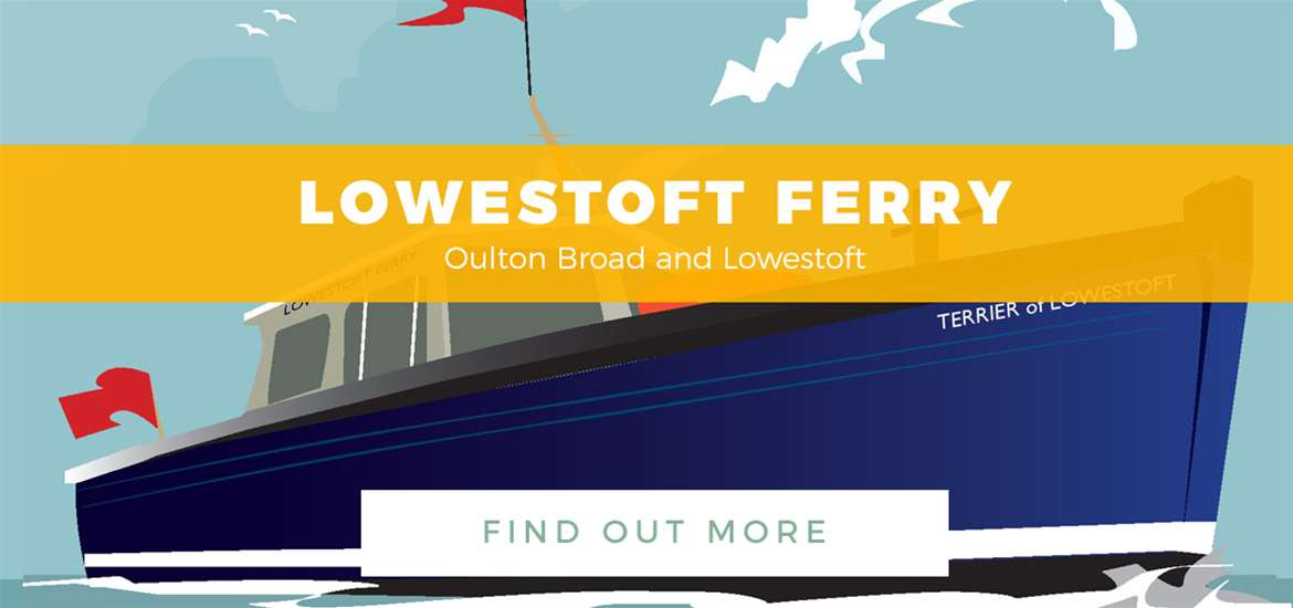 Banner ad - Lowestoft Ferry - 2nd May - 31st May 2017