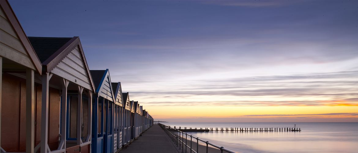 Southwold - Towns & Villages - Beach Huts at Dawn - (c) Jon Gibbs