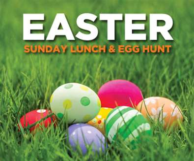 EASTER SUNDAY LUNCH & EGG HUNT