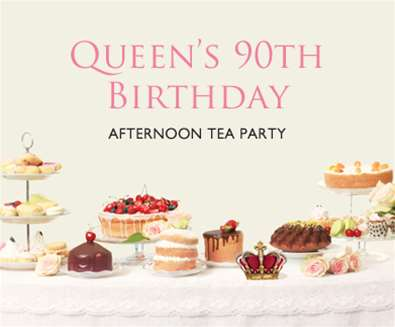 Queen's 90th Birthday Afternoon Tea Party