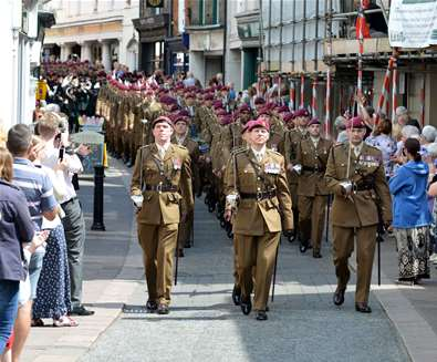 Freedom of Woodbridge Parade