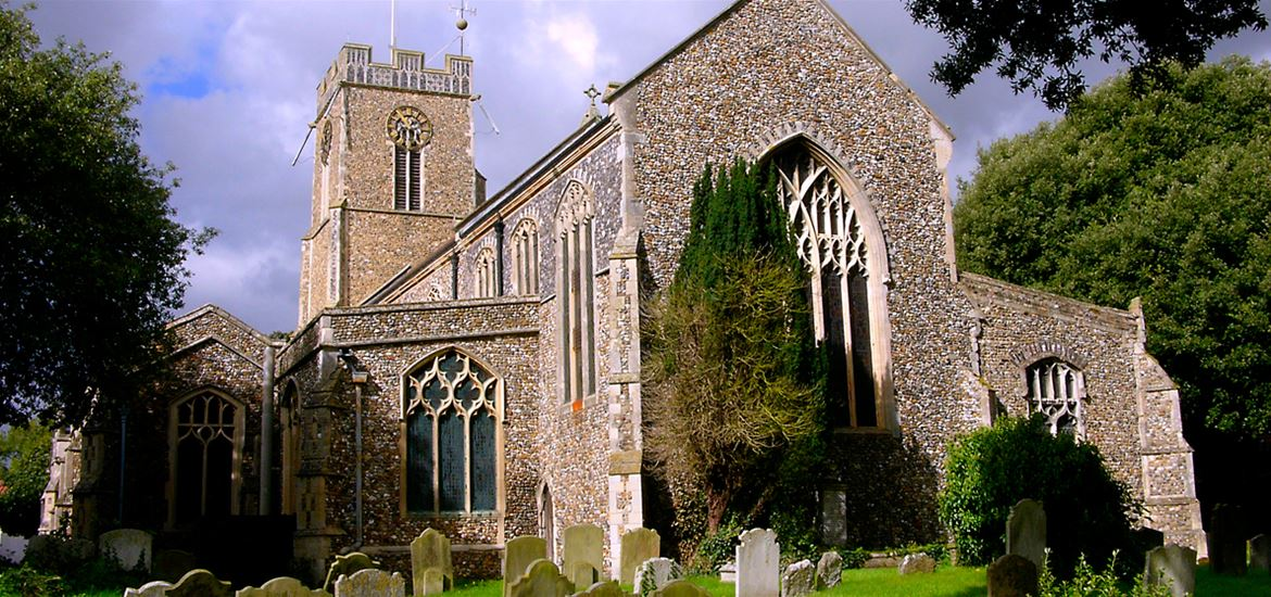 St Mary's Church Halesworth - Nick Catling