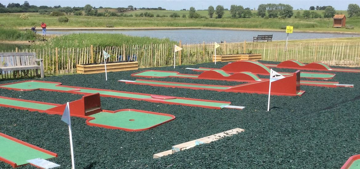 Southwold Boating Lake Crazy Golf