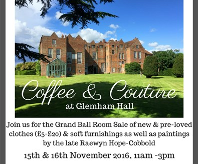 Coffee & Couture at Glemham Hall