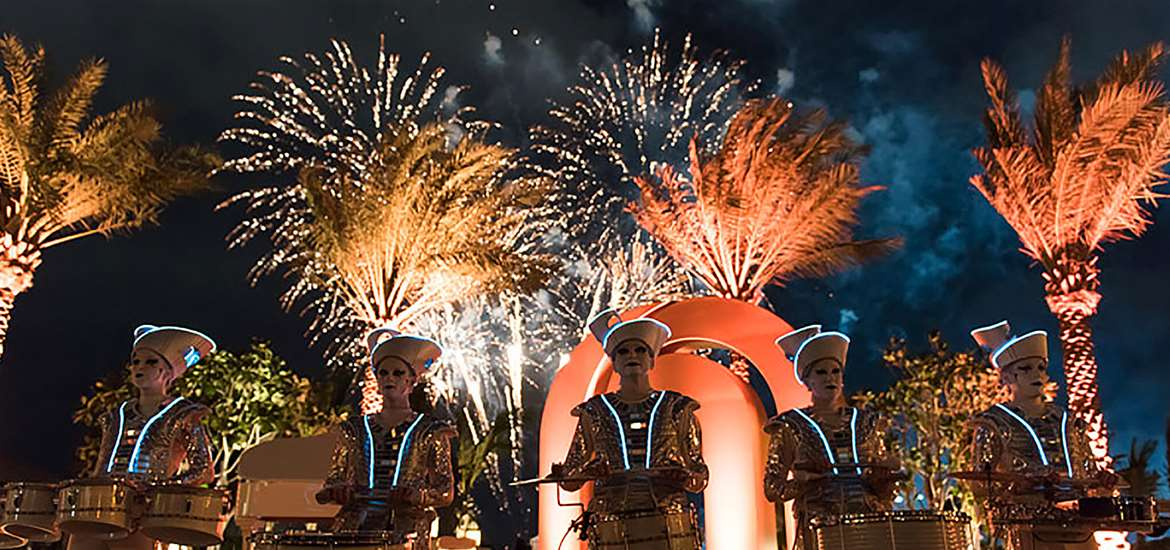 Articles - Get Set for an Explosive Firework Night on The Suffolk Coast - LED Drummers at Heveningham Hall