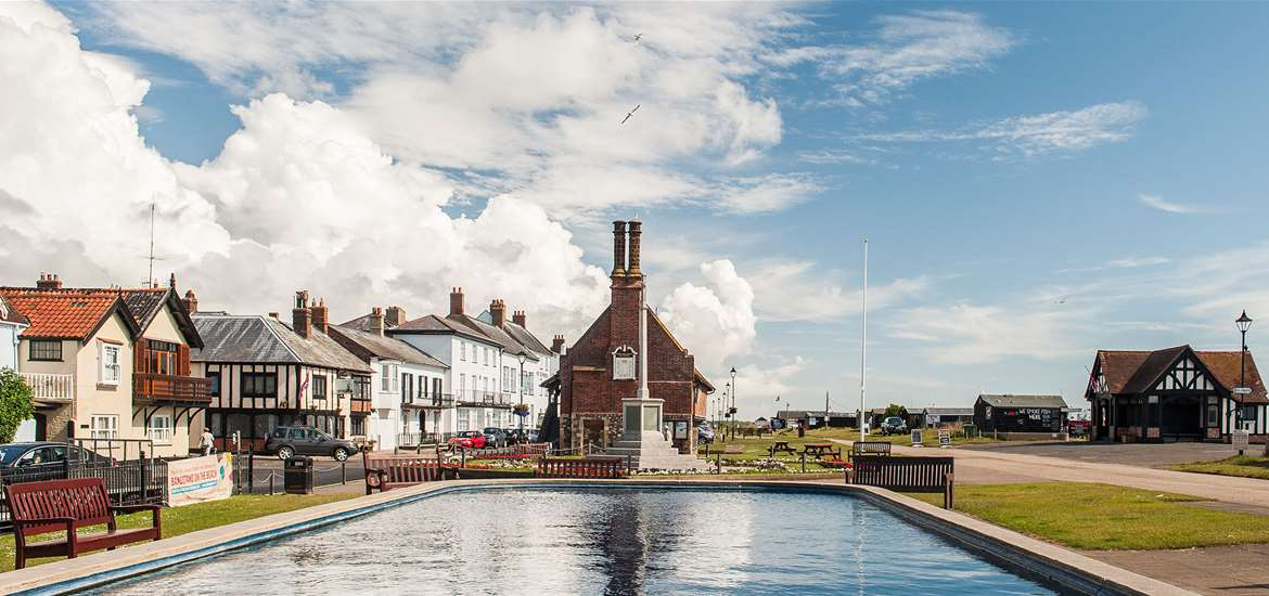 Aldeburgh Boating Pond - The Suffolk Coast - Credit Gill Moon