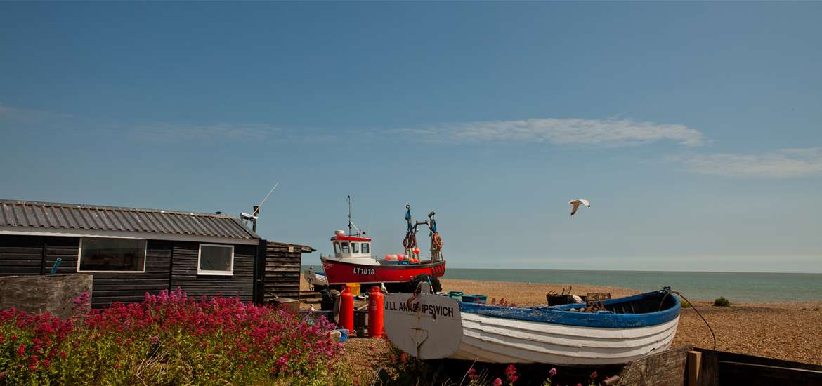 Aldeburgh Beach - The Suffolk Coast - credit Photography by Emily Fae