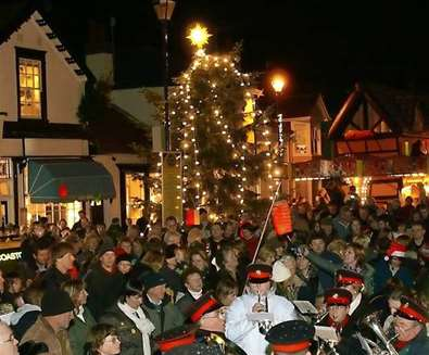 Aldeburgh Christmas Lights Switch On 2015