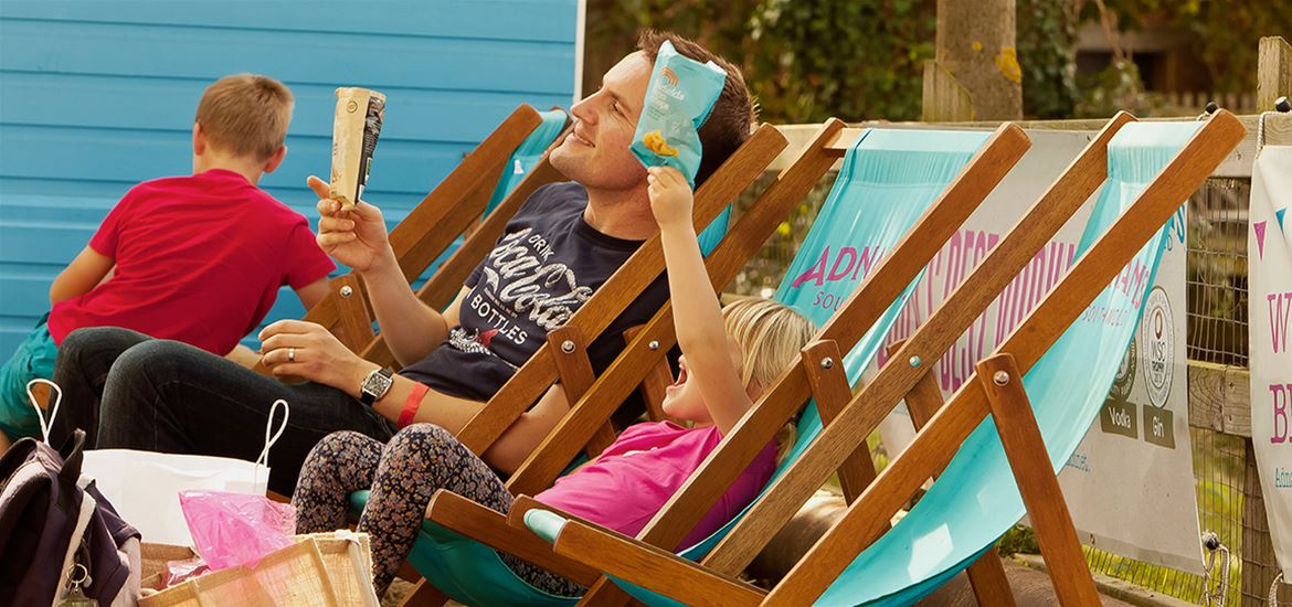 Aldeburgh Food & Drink Festival - Attractions - Deck Chairs - (c) Bokeh Photographic