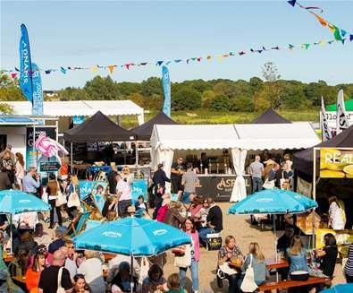 Aldeburgh Food & Drink Festival - Courtyard - The Suffolk Coast