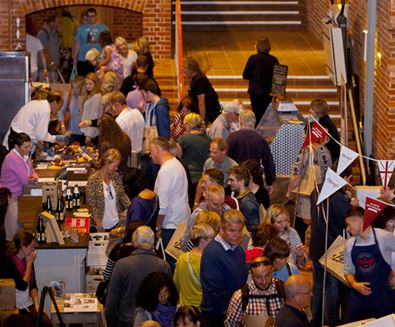 Aldeburgh Food and Drink Festival Crowd
