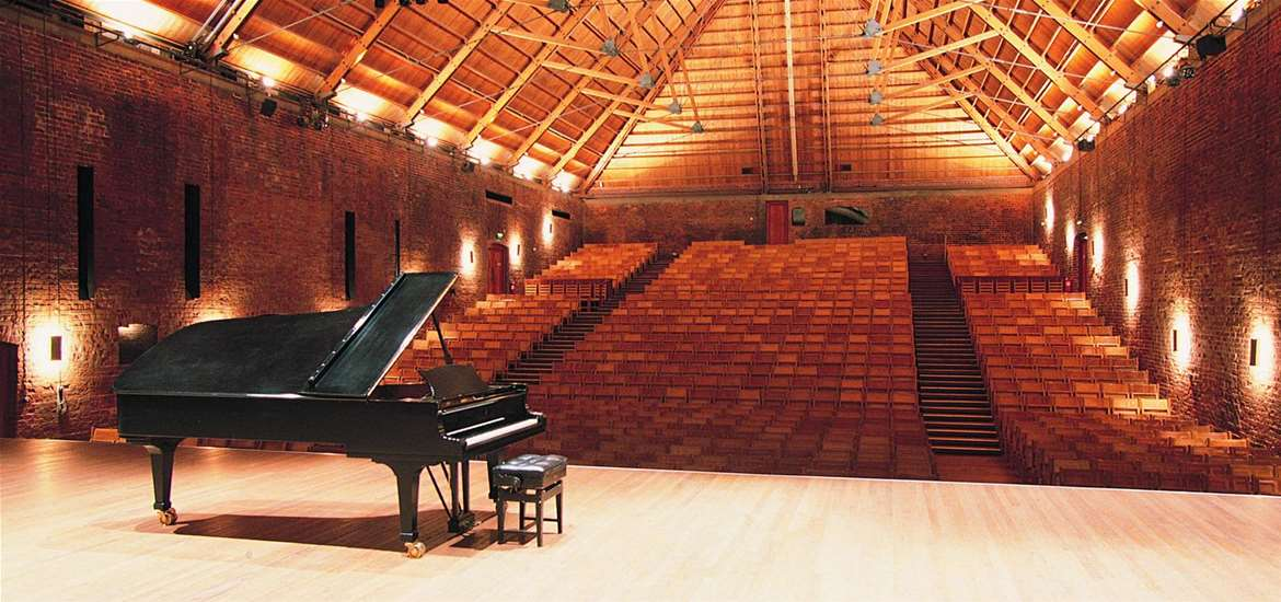 Snape Maltings Concert Hall - (c) Jeremy Young