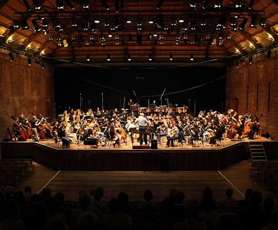 Aldeburgh Music and Snape Maltings Concert Hall - bpo performing - Rob Marrison