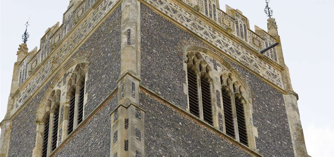 St Mary's Woodbridge - Angels and Pinnacles - Attractions