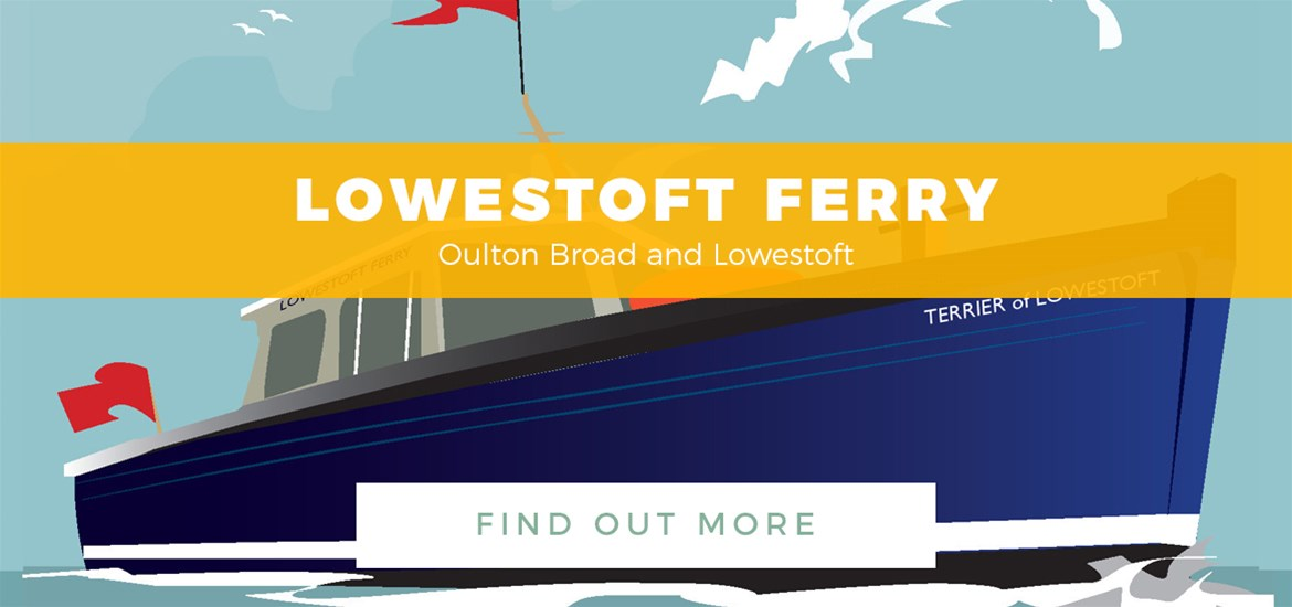 Banner ad - Lowestoft Ferry - Town Guide - 1st - 31st May 2017