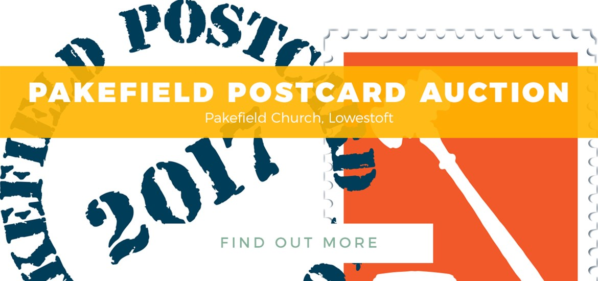 Banner ad - Pakefield Postcard Auction 2017 - TTDE - 3rd to 31st July