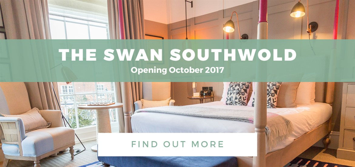 Banner Advertisement The Swan TG Southwold 4 Oct to 30 Oct 2017