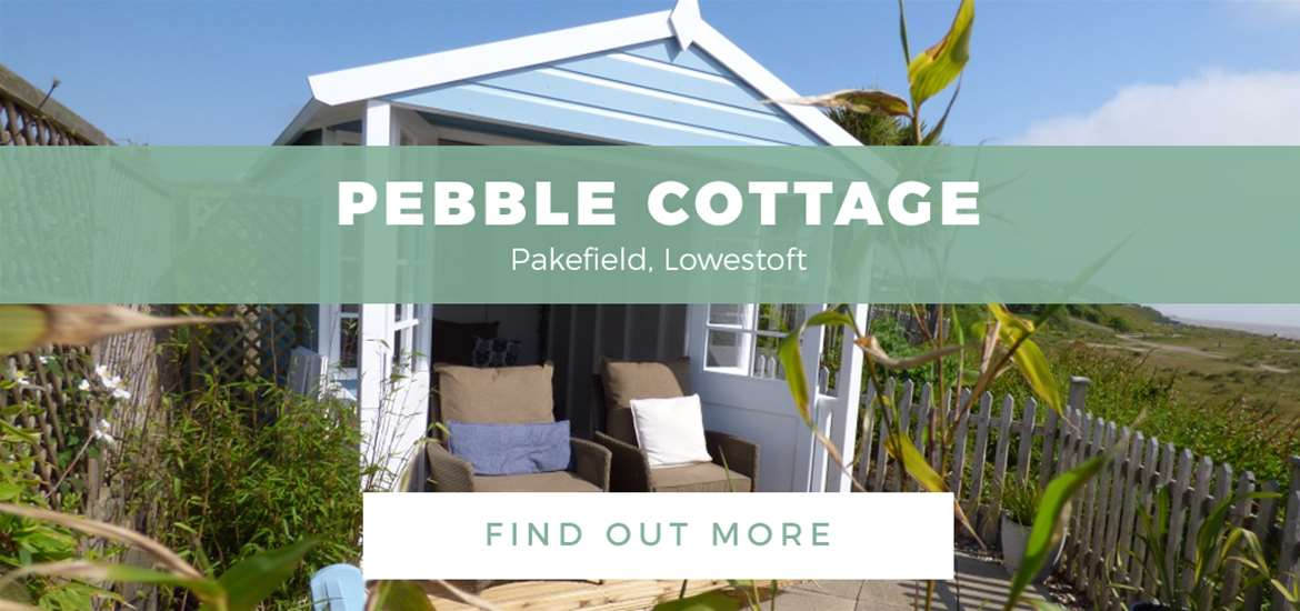 Banner ad - Pebble Cottage - Towns and Villages - 1st to 30th September 2017