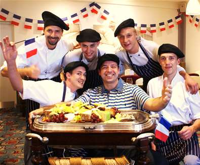 Bastille Day at The White Lion Hotel, Aldeburgh