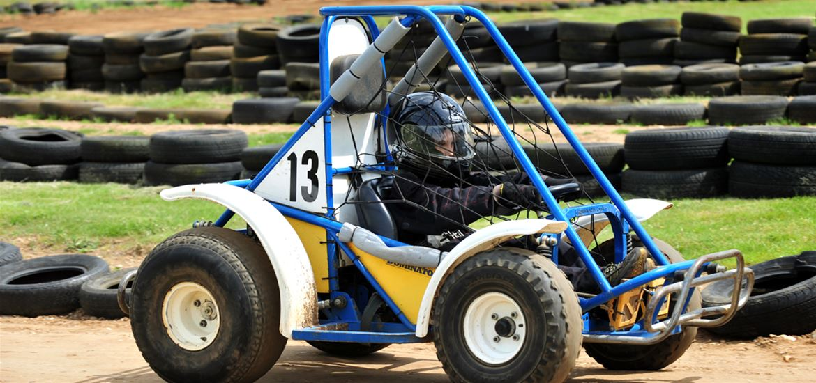 Beacon Rally Karts Kids of all ages can enjoy!