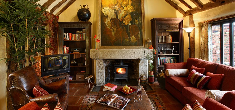 Belle Grove Upper Barn Living Room