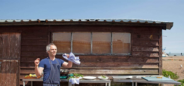 Tyler Torrance-The Brudenell-Aldeburgh-Cooking Alfresco-Photographer Emily Fae