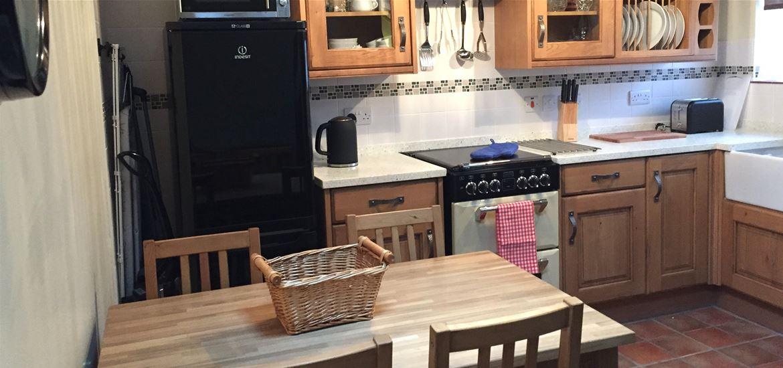 Corner Cottage  Kitchen