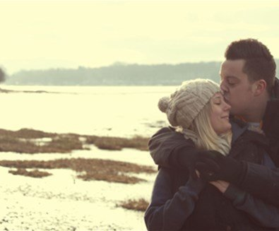 Couple on Nacton Shore - Photo Credit Emily Fae