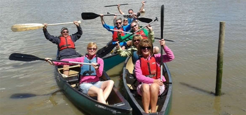 Iken Canoe on the Suffolk Coast