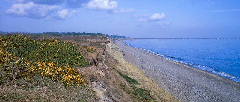 Dunwich Beach Cliffs