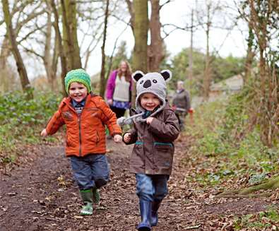 Articles - Plan your Half Term - Children in forest