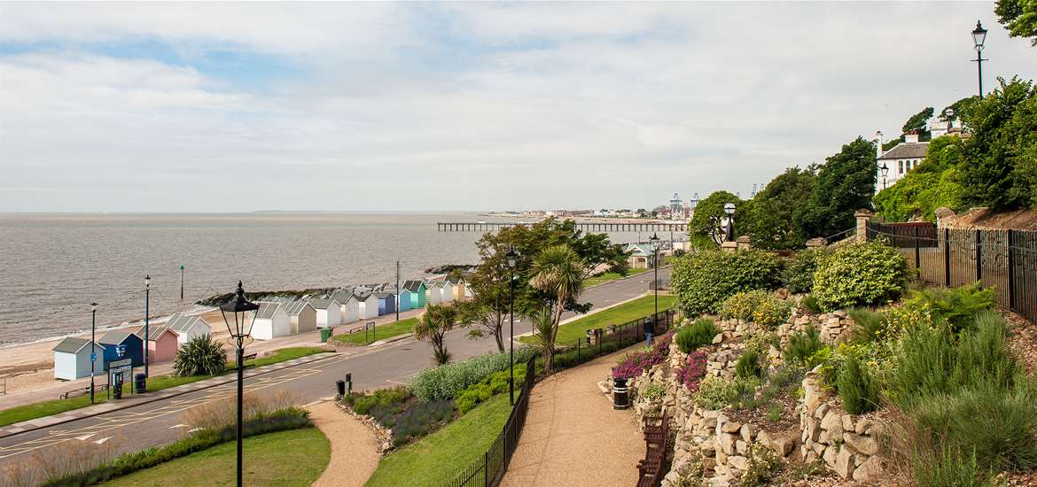 Felixstowe Sea Front Gardens View-credit Gill Moon