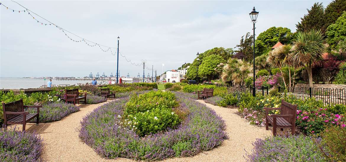 Things to do - Felixstowe Seafront Gardens 2 - credit Gill Moon