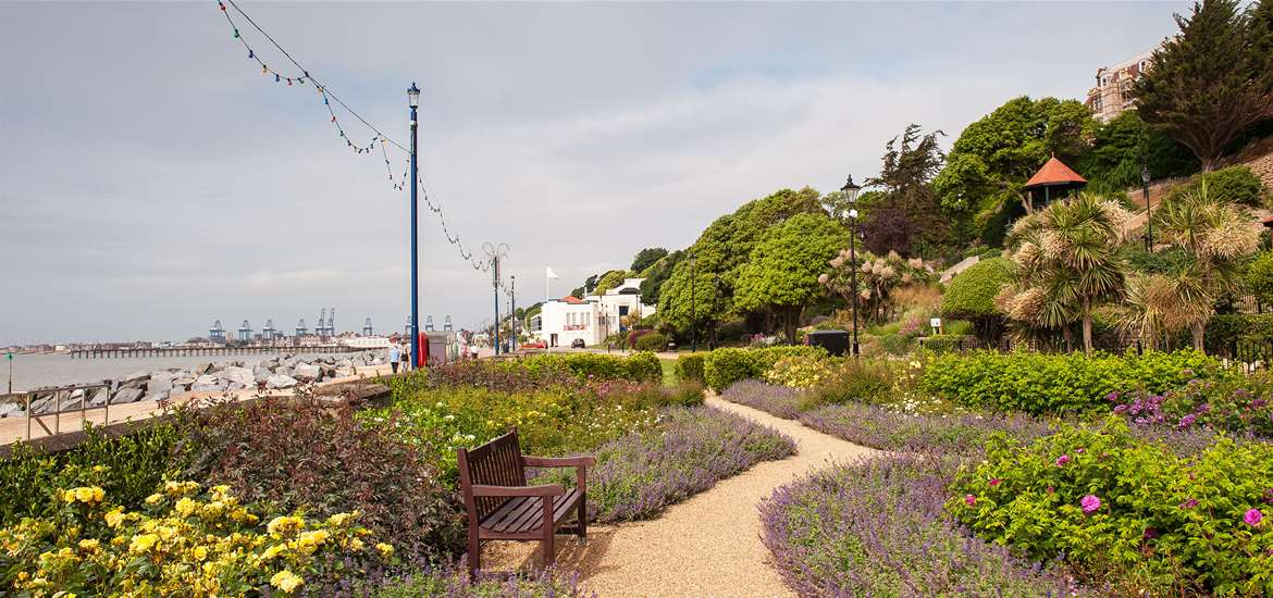 Things to do - Felixstowe Seafront Gardens - credit Gill Moon