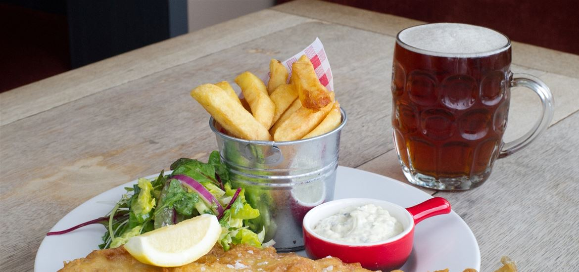 The Ramsholt Arms - Fish and Chips