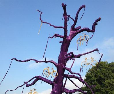 Purple Tree at FolkEast