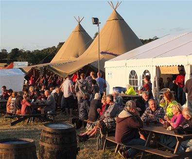 A foodie's delight at FolkEast
