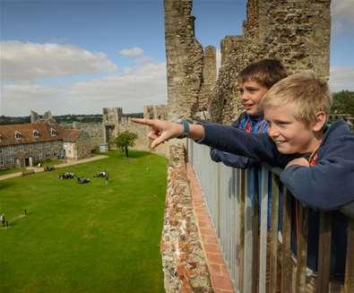 Framlingham Castle - perfect for families