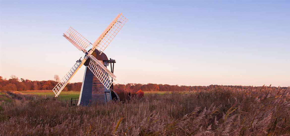 TTD-Active and Outdoors - Herringfleet Windmill-Suffolk Coast