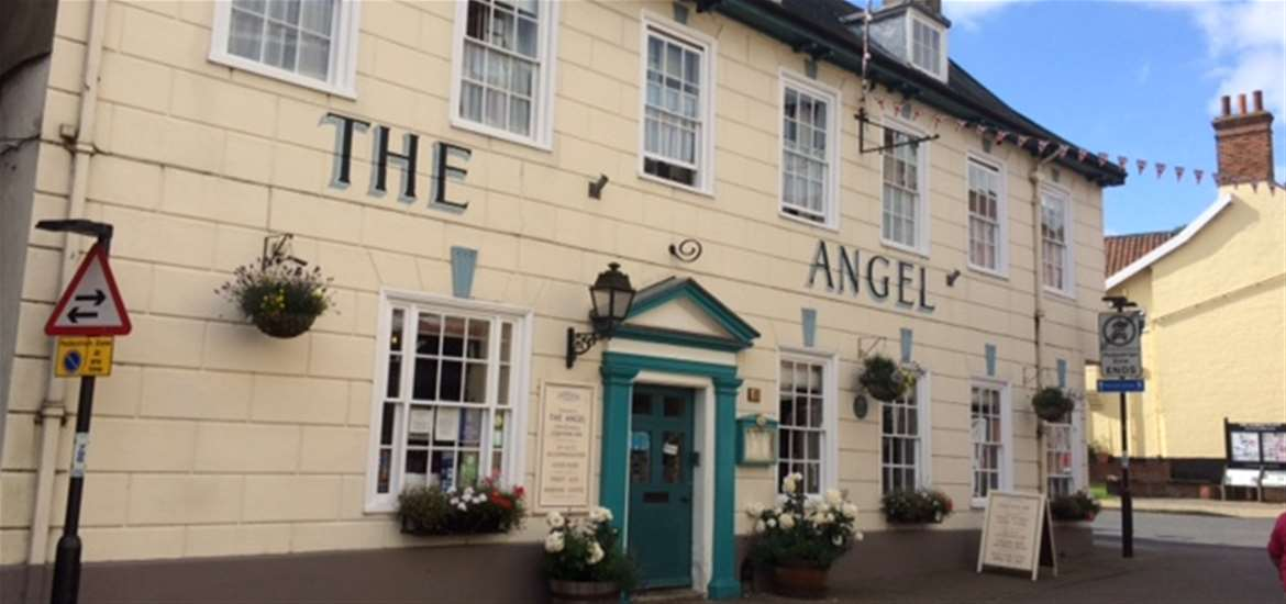 Where to Stay - The Angel - Halesworth - Exterior