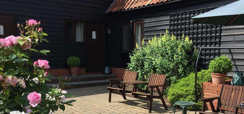 WTS School Farm Cottages Courtyard Halesworth
