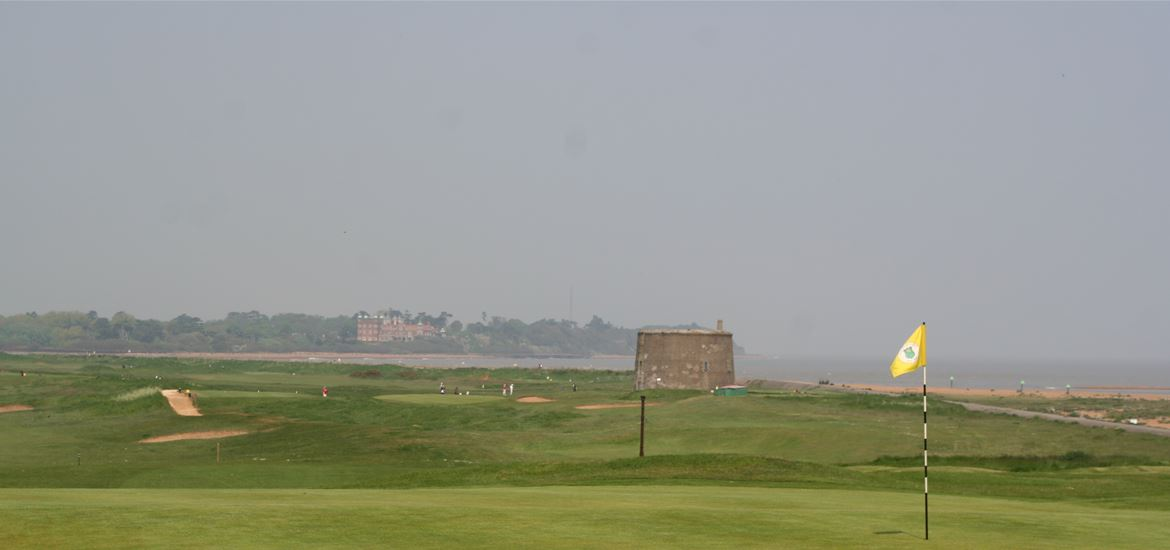 Felixstowe Ferry Golf Course