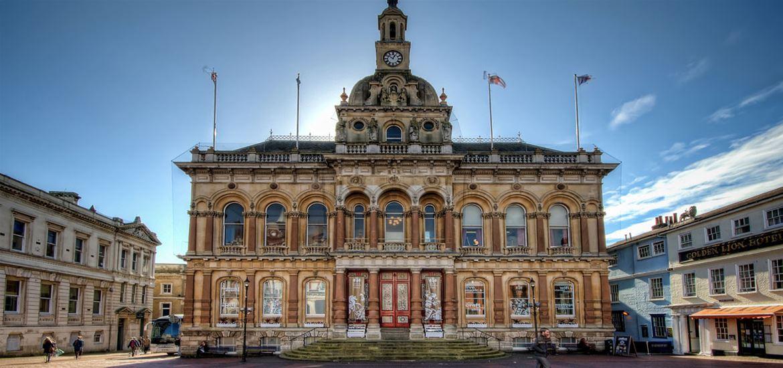 Ipswich Town Hall-credit Ipswich Waterfront