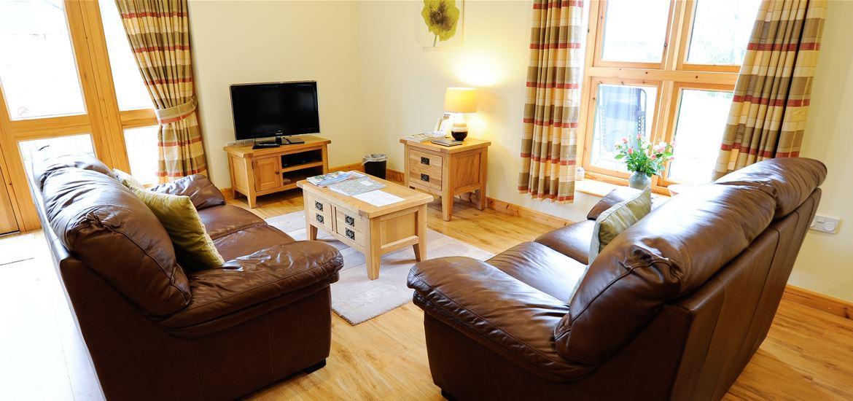 Lodge Farm Cottages Living Room