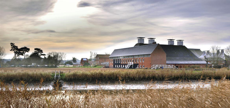 Aldeburgh Music - Snape Maltings Concert Hall - Attractions - (c) Philip Vile