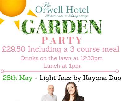 The Orwell Hotel Garden Party