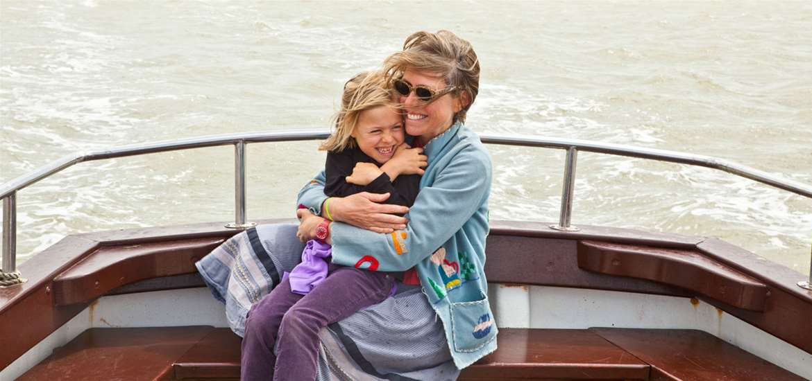Mother and Child on Boat - (C) Emily Fae Photography