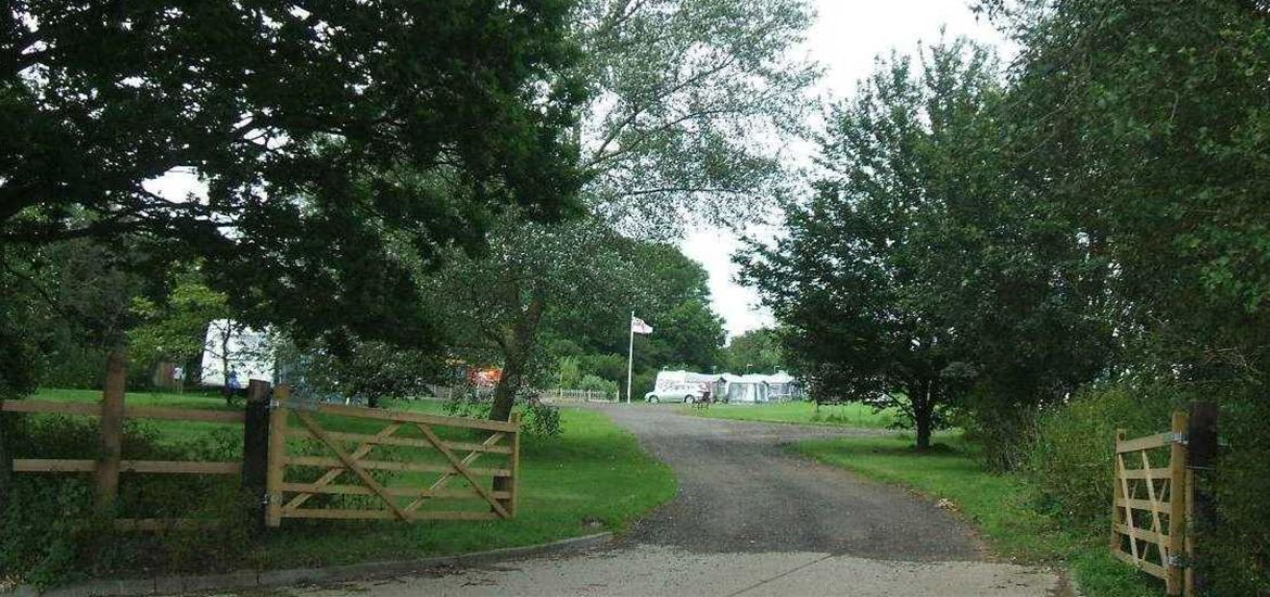 Mill Hill Farm Caravan and Camp Site Entrance