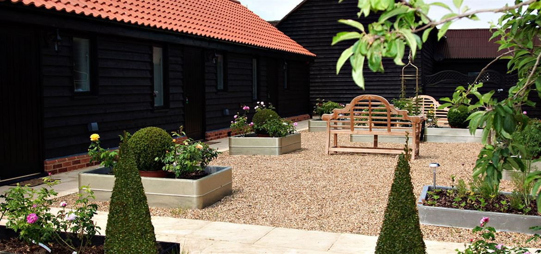 Mollett's Farm - Accommodation - Courtyard